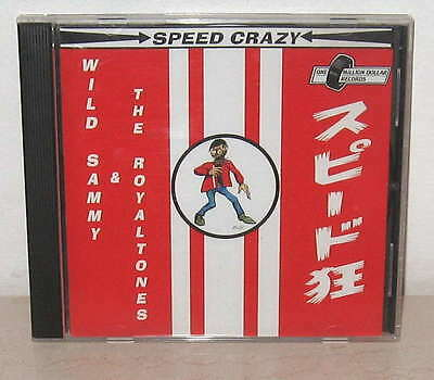Wild Sammy & Royaltones  * Speed Crazy * Surf Garage Eleki * RAR ! sehr selten