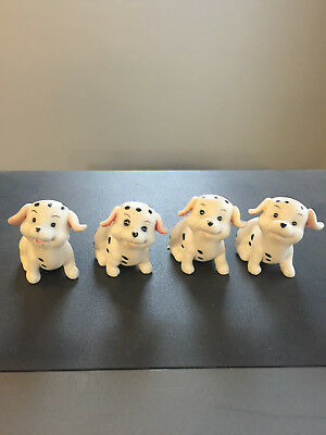 Porcelain Group of Pretty Dalmation Dogs