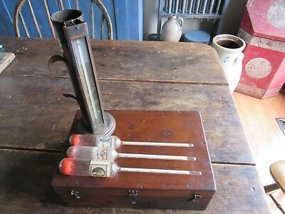 Antique 1880`s Hydrometer Internal Revenue Service Jos. S. Miller John W. Yerks