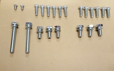 BMW E30 3 Series Medium Case 188 Differential Diff Stainless Steel Bolts Rebuild