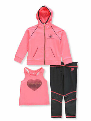 Body Glove Girls' 3-Piece Leggings Set Outfit