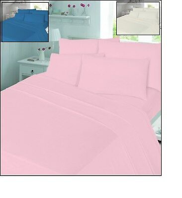 100/% Soft Brushed Warm Rosebud Flannelette Sheet Fitted Sheet Pillowcase Flat