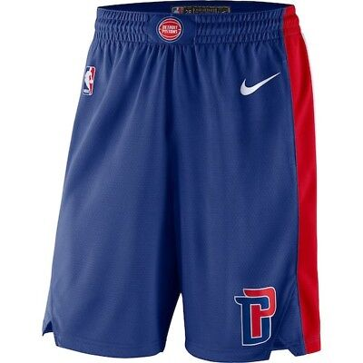 new concept 85309 7dbac NEW NIKE DETROIT Pistons City Edition Swingman Shorts Men's Large $80 NWT