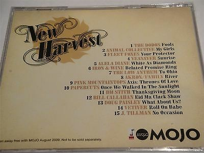 Mojo Presents New Harvest - Best of Modern North American music CD