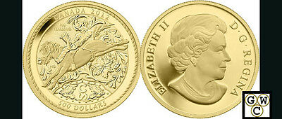 2012 Gold 5oz Proof $500 'Calgary Stampede' .9999 Fine Gold Coin (13010) (NT)