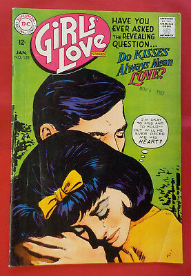 Girls' Love Stories #132 ! DC 1968 !  VERY GLOSSY COVER ! hayfamzone