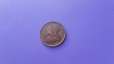 1 Penny 1896 (1895-1901)-Great Britain-Bronze Coin-Km#790