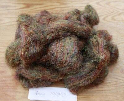mousebrille synthetic fibre for handspinning or other craft work in 100gm pack