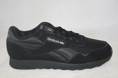 fc4058a429b Reebok Royal Nylon Classic Bd1554 Black black-Carbon Casual running For Men