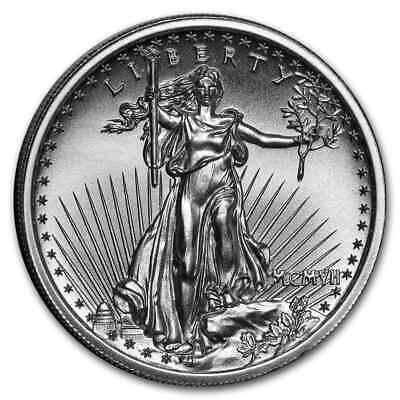 2 oz Silver High Relief Round - Saint-Gaudens - SKU#177667