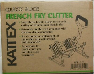 """Winco HFC-375 3/8"""" KATTEX 3/8 Quick Slice French Fry Cutter"""