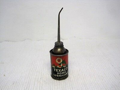 Vintage Texaco The Texas Company Home Lubricant Oiler 3 Ounce-FAST SHIPPING!!