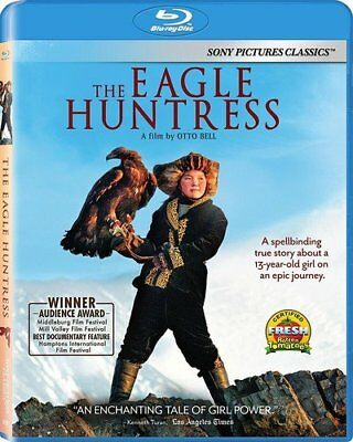 The Eagle Huntress (Blu-ray Disc, 2017) NEW Factory Sealed Free Shipping