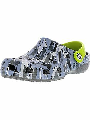 Crocs Kid's Classic Graphic Clog Ankle-High Clogs