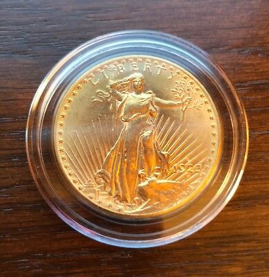 1923-D Gold Double Eagle in Gem Condition. St Gaudens $20 Piece.
