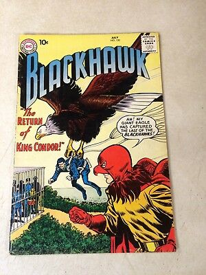 Blackhawk #150 King Condor, 10 Cent Cover Price, 1960, Riddle Of The Sphinx