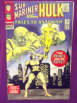 Tales to Astonish  #78 VF