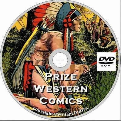 Prize Western Comics 50 Issues on DVD Rom