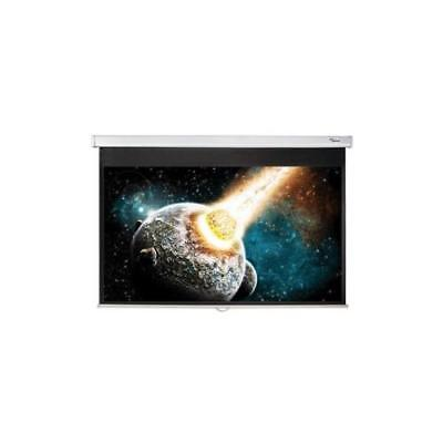 """Optoma DS-9072PWC Manual Projection Screen 182.9 cm 72"""" 16:9 Wall/Ceiling Mount"""