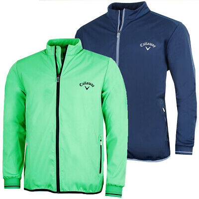 Callaway Golf Mens LS Full Zip Water Resistant Windshirt 55% OFF RRP