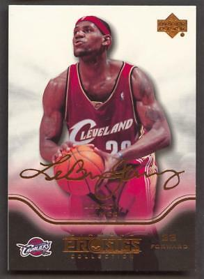 51754cdee011 2004-05 UPPER DECK Diamond Collection ProSigs  13 LeBron James ...