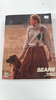 Sears 1988 Fall Winter Catalog Very Good