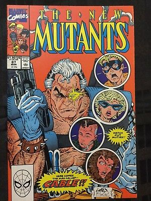 The New Mutants #87 (Mar 1990, Marvel) 1st Appearance of Cable