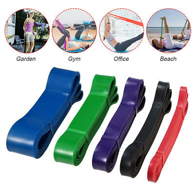 Elastic Exercise Resistance Band Yoga Fitness Workout Stretch Bands Pull Up Rope