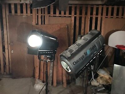 Altspot spotlight, 2 used, 1000 watts