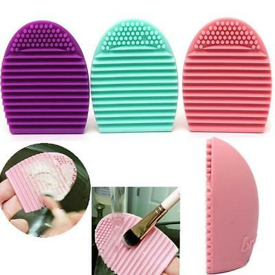 Makeup Brush Cleaner Glove Egg Scrubber Cosmetic Cleaning Foundation Silicone