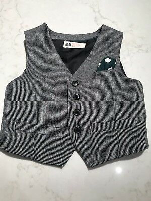 Boys Tailored Vest H&M Size 4–5