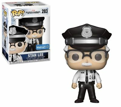 Stan Lee Funko Pop! Marvel Police Uniform Cameo Walmart Exclusive #283