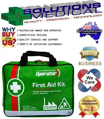 First Aid Kit Operator Versatile Medium Workplace Soft Case Office Home