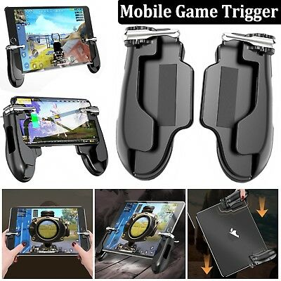 PUBG Mobile Gaming Trigger Shooter Hand Grip Gamepad For Smart Phone iPad Tablet