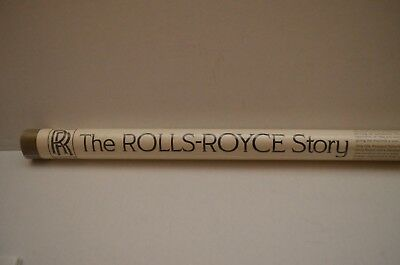 NEW Vintage Rolls-Royce Story Poster History of Models 1904-1970