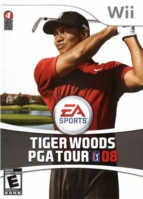 Tiger Woods PGA Tour 08 (Nintendo Wii, 2007) LN WITH Manual & LOW SHIPPING