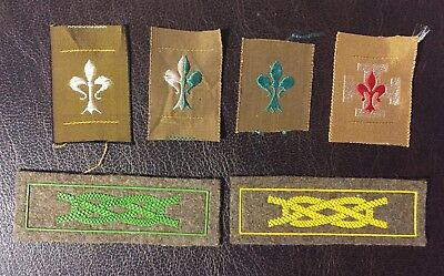 ASCI starting KIT Capi distintivi scout badges Italy 1950's