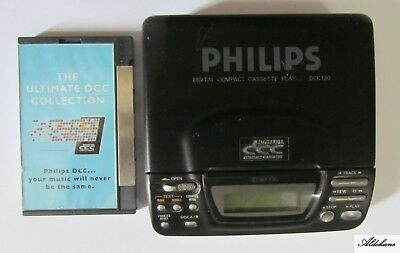 Philips Dcc Digital Compact Cassette Player Dcc130 + The Ultimate Dcc Collection