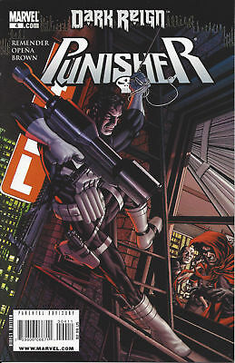 Punisher 4 Variant Cover Remender Dark Reign 2009 Marvel Comic NM