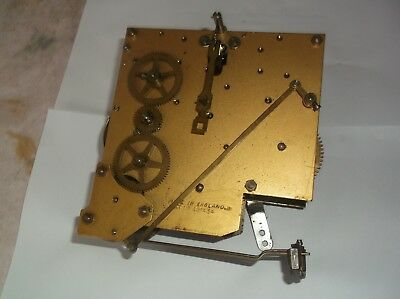 BRITISH MADE 5 HAMMER 4X4 MECHANISM  FROM AN OLD  MANTLE CLOCK REF k 11