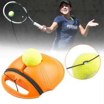 Tennis Ball Singles Training Practice Balls Back Base Trainer Tools With Ball 8C