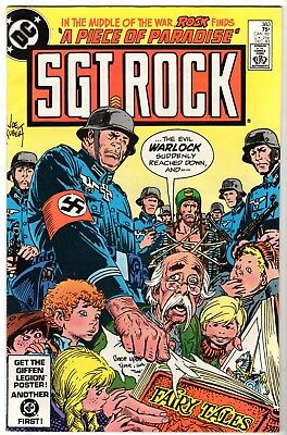 Sgt. Rock #383, Very Fine - Near Mint Condition