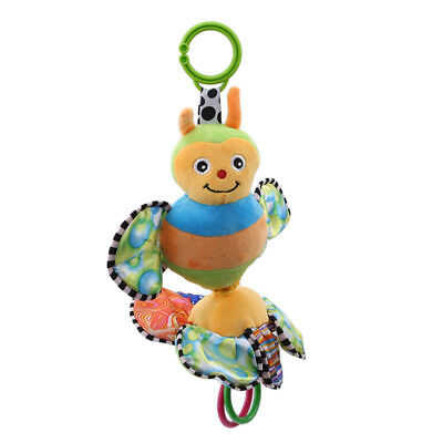 Baby Infant Soft Rattles Animal Teether Hanging Bell Plush Toy 8C