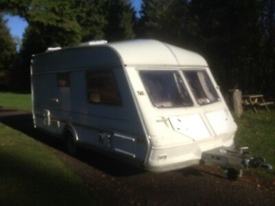 2 Berth touring caravans used.SPARES OR REPAIRS.ABI Jubilee Equery