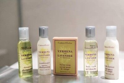 New Crabtree & Evelyn Travel Spa Set Verbena And Lavender De Provence
