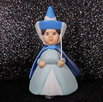 Disney Porcelain Figurine Sleeping Beauty Merryweather Blue Fairy c2000