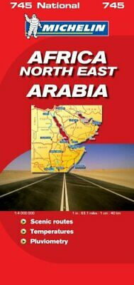 Africa North and East (Michelin National Maps) Sheet map, folded Book The Cheap