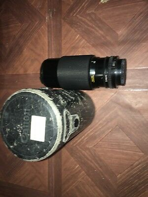 CANON Zoom Lens FD 70-210mm 1:4 for AE-1 program TESTED