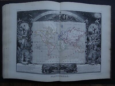 1851 Levasseur Atlas National de la France 101 maps / World maps