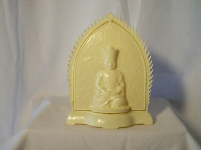 ivory colered statue